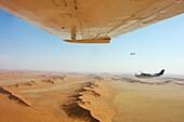 Aerial view, namib desert, Namibia