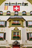 Suisse hotel, Andermatt, Canton Uri, Switzerland