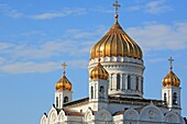 Cathedral of Christ the Saviour, view from Moskva river, Moscow, Russia