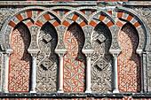 Detail, One of the original entrances to the Mezquita, Cordoba, Spain
