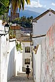 Alleys of the Albaicín, Granada, Spain