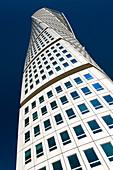 Santiago Calatrava's 'Turning Torso' building, Malmo, Sweden