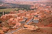 Village on the High Atlas near Tinerhir, Morocco