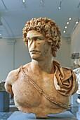 Marble portrait of a young man, A D 161–180, Roman, Antonine period, Metropolitan Museum of Art, New York City