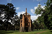 Boer-War Monument for the Victorian 5th Contingent / Victorian Mounted Rifles at Kings Domain in Melbourne, Victoria, Australia