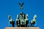 The Quadriga on the Brandenburg Gate, Berlin, Germany
