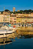 Le Suquet - Old Town and Old Harbour, Cannes, Cote dÕAzur, France