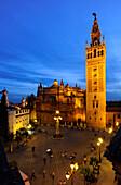 Kathedrale, la Giraglia, Sevilla, Provinz Sevilla, Andalusien, Spanien, Mediterrane Länder