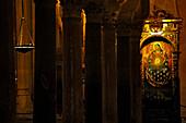 Heilige Maria, Innenarchitektur, Mezquita-Catedral, Cordoba, Provinz Cordoba, Andalusien, Spanien, Mediterrane Länder