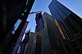Radio City, Highrise, New York City, New York, USA, North America, America