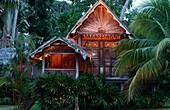 Traditional Malay house, Bon Ton Resort, Lankawi Island, Malaysia, Asia