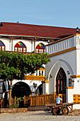 Detail of the Tembo House hotel, Stonetown, Zanzibar City, Zanzibar, Tanzania, Africa