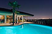 Backyard Pool, Los Angeles, CA, US