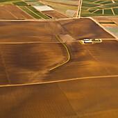 Farmland Crops, San Mateo County, California, USA