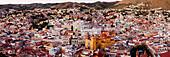 City Skyline, Overlook at the Pípila, City of Guanajuato, Guanajuato, Mexico