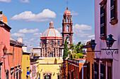 Church in Urban Area, San Miguel de Allende, Guanajuato, Mexico