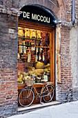 Italian Delicatessen or Macelleria, Siena, Tuscany, Italy