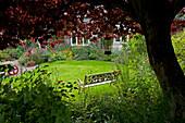 Garten in Fordyce, Aberdeenshire, Schottland