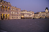Piazza dell'Unita d'Italia mit Rathaus, Italien, Mediterrane Länder, Venetien, Venezien, Veneto, Friaul-Julisch Venetien, Friuli-Venezia Giulia, Triest, Trieste
