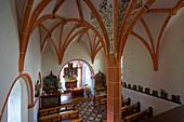 Church of Steinborn, Indoor photo, Eifel, Rhineland-Palatinate, Germany, Europe