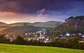 Gerolstein, Gerolsteiner Dolomitfelsen, Munterley, Eifel, Rhineland-Palatinate, Germany, Europe
