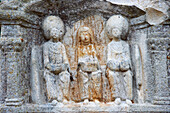 Matron sanctuary at the Gallo-Roman temple Görresburg, Near Nettersheim, Eifel, North Rhine-Westphalia, Germany, Europe