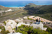 View from the top of Mt. Bishop, Wilsons Promontory National Park, Victoria, Australia