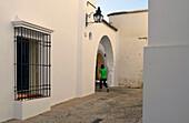 Houses in Jewish Quarter, Cordoba, Andalusia, Spain