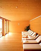 Relaxation room, Spa, Hotel Post Bezau, Bregenz, Vorarlberg, Austria
