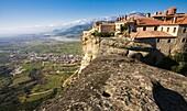 St. Stephans Nunnery. (Agios Stefanos). Meteora. UNESCO. World Heritage Site. Thessaly. Greece.