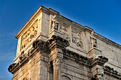 Partial view of the Arch of Constantine, Rome