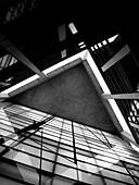 22, Architektur, Barcelona, Büro, Design, Diagonal, Europa, Fassade, Gebäude, Katalonien, Modern, nou, poble, Spanien, Theater, Zeitgenosse, XT4-1135585, AGEFOTOSTOCK