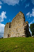 England, Northumberland, Thirlwall Castle Thirlwall Castle, near Greenhead, part of the Northumberland National Park