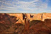Spider rock View in the Canyon de Chelly, Arizona