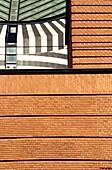 USA, California, San Francisco, tight shot of the San Francisco Museum of Modern Art, exterior