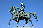 Sweden, Stockholm, Carl XIV Johann statue