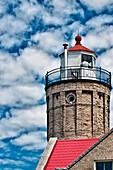Rustic Lighthouse, Michigan, US