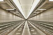 Moving Walkways At Airport, Arlington, Virginia, USA