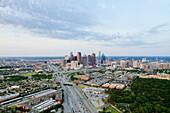 Dallas Skyline in the Daylight, Dallas, Texas, USA