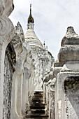 Mingun, Myanmar, Hsinphyumae (Myatheindan) Pagoda