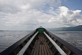 Boat on Inle Lake, Myanmar