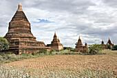 Bagan, Myanmar, ancient temples and stupas