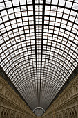 Glass roof of GUM department store, Moscow, Russia