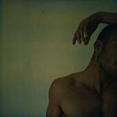 Nude man, head and shoulder