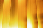 Yellow vertical blinds, close-up