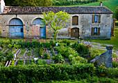 Rustic Farmhouse With Vegetable Garden, Summer, Fanjeaux, France