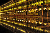 Reflection, Piazza San Marco at night, flood water, Aqua Alta, Venice, Italy