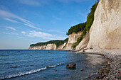 Chalk cliffs, Jasmund National Park, Ruegen island, Mecklenburg-Western Pomerania, Germany