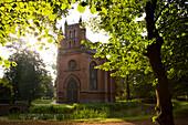 Kirche im Schlosspark, Schloss Ludwigslust, Ludwigslust, Mecklenburg-Vorpommern, Deutschland