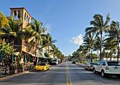 US, Florida, Miami Beach, Ocean drive, Art Deco facades